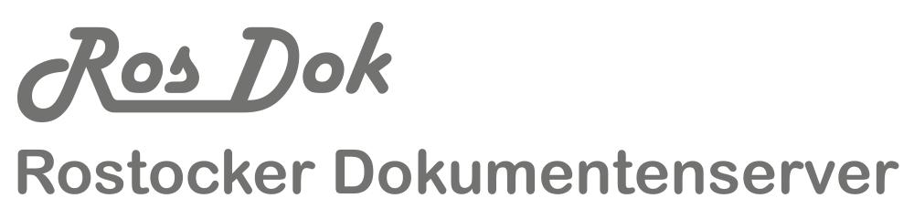 Rostocker Dokumentenserver